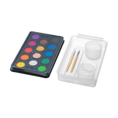 harga Ikea Mala Water Color Set Kotak Cat Air [14 Warna] Multiwarna Blibli.com