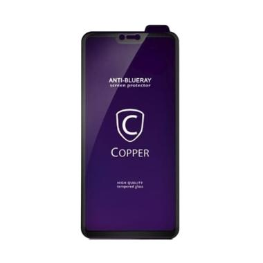 harga Copper Indonesia Blueray Premium Tempered Glass Screen Protector for Redmi 6 Pro [Full Glue] Blibli.com