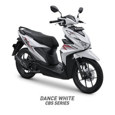 Honda New BeAT Sporty CBS Sepeda Motor [VIN 2020/ OTR Jambi]