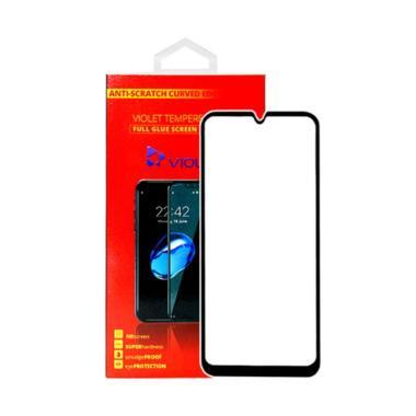 harga Violet Tempered Glass Screen Protector for Samsung A20S [5D/ Glossy Full Glue Black] Blibli.com