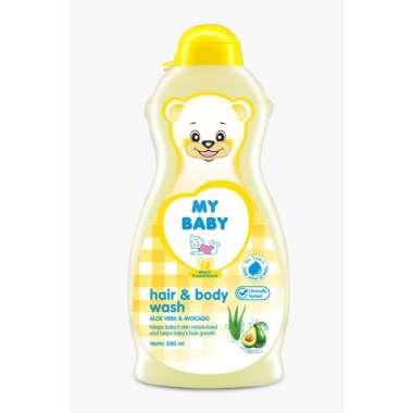 harga My Baby Hair Shampo Body Wash Sabun dan Shampo Bayi [200 mL] KUNING Blibli.com