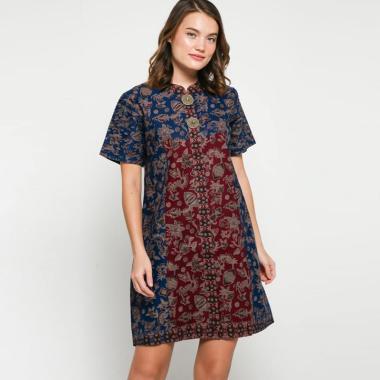 Andelly Batik 02 08 Dress Panjang Wanita