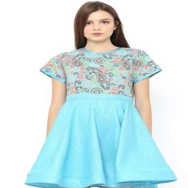 Arya Putri Batik DRS-005-B/S.L Batik Dress Wanita