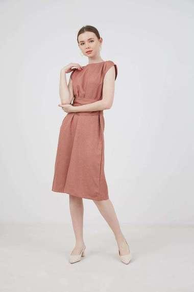 Berrybenka Julyan Double Tied Dress