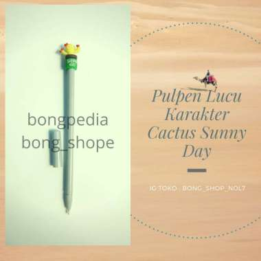 harga Pulpen Cactus Sunnyday|Pen Cactus Sunnyday|Pulpen Unik Cactus Sunnyday Blibli.com