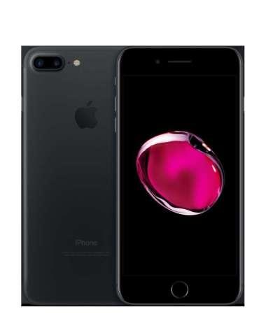 iPhone 7 Plus 128GB BLACK FREE TEMPERED GLASS