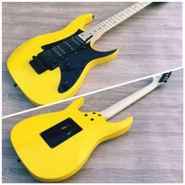 harga Ibanez RG 350 Gitar Listrik Elektrik Custom Updown Kuning Blibli.com