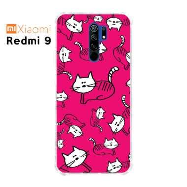harga HEAVENCASE Casing Case Xiaomi Redmi 9 Softcase Anticrack Motif Kucing Lucu 02 - Multicolor Xiaomi Redmi 9 Blibli.com