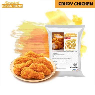 harga no brand Tepung Premix Ayam Crispy Non Msg, Rasa Super Gurih Dan Enak Ala Resto [1 Kg] Blibli.com