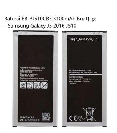 harga Original Baterai EB-BJ510CBE Buat Handphone Samsung Galaxy J5 2016 Blibli.com