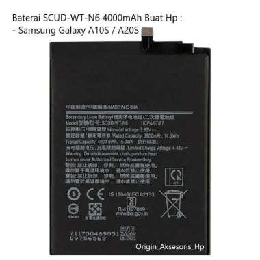 harga Original Baterai SCUD-WT-N6 Buat Handphone Samsung Galaxy A10S / A20S Blibli.com