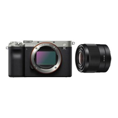 harga Pre Order - Sony Alpha a7C Mirrorless Digital Camera [Body Only] + PWP SEL28F20 Lens Silver Blibli.com