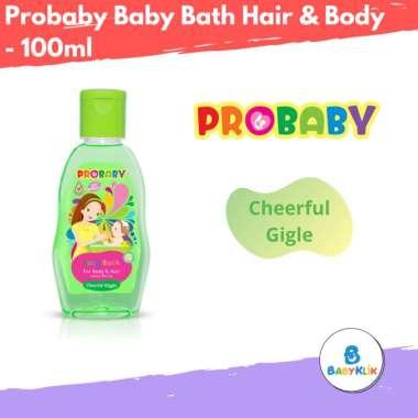 harga Probaby Baby Bath Hair & Body Cheerful Gigle - Sabun Sampo Bayi - Shampo Bayi - Sabun & Shampo Probaby - 100ml Blibli.com