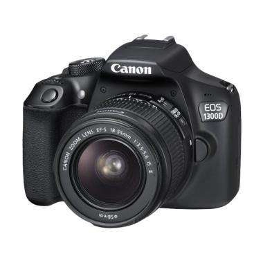 Canon EOS 1300D Kamera DSLR - Hitam