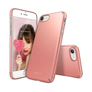 Rearth iPhone 7 / iPhone 8 Case Ringke Slim - Rose Gold