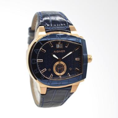 Aigner Grosseto Jam Tangan Pria - Blue Gold A15120 82b547910d