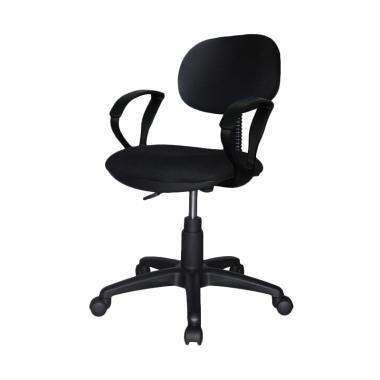 Ergosit Seat Armrest Kursi Kantor - Hitam