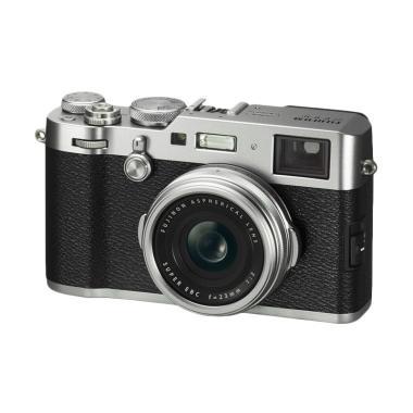 Fuji Film X 100 F Silver + Instax Share SP 2