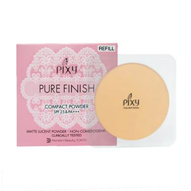 PIXY Pure Finish Compact Powder Refill Beige - 11gr