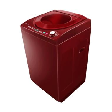 Polytron PAW 9512 Mesin Cuci - Merah [9.5 kg]