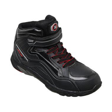 Homyped Buzz 01 Sepatu Sekolah Anak - Black