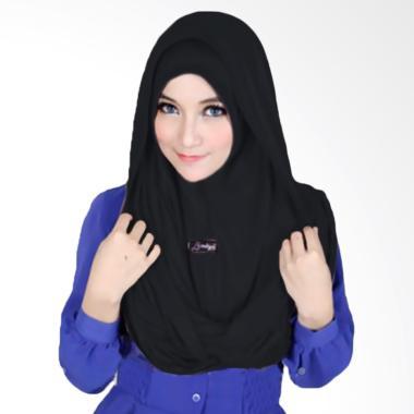 Milyarda Hijab Sosor Twist Kerudung - Hitam