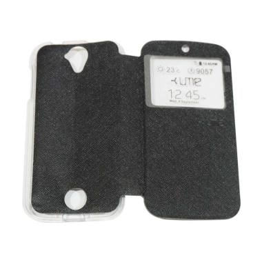 Ume Flipshell / Flip Cover Casing f ...  Handphone / View - Hitam