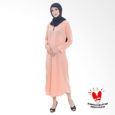 Jfashion Gamis Maxi with zipper - Salem