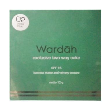Wardah Exclusive Two Way Cake Bedak - Sheerpink