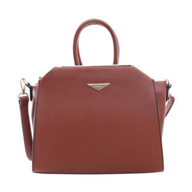Elizabeth Bag Anaya Tote Bag - Coklat Tua