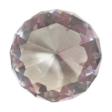 EZTU Diamond 6 Cm Round Pink Colour