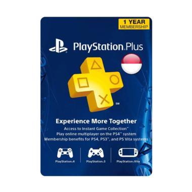 SONY SEA Playstation Plus Membership Digital Code Voucher 1 Tahun