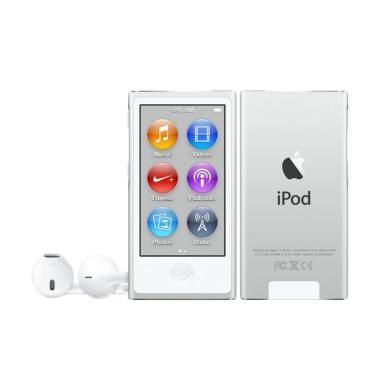 Jual Apple iPod Nano 7 16 GB Portable Player - Silver Harga Rp 2469000. Beli Sekarang dan Dapatkan Diskonnya.