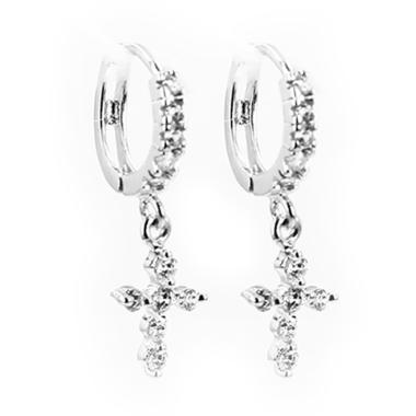 D'Paris Earring Clasp ALJSL02900 Cross Anting