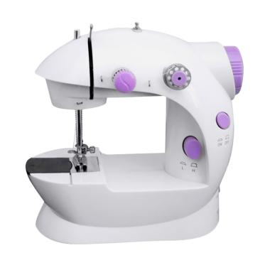 MESIN JAHIT MINI PORTABLE SERI 202 SEWING MACHINE With LED Or Lampu
