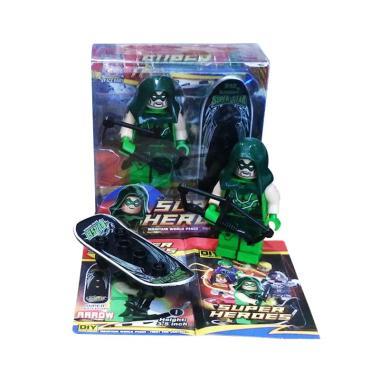 TMO Super Heroes Skateboard Arrow Mainan Anak