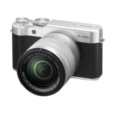 Fujifilm X-A10 Kit 16-50mm OIS II K ... + Free SDHC 16GB Class 10