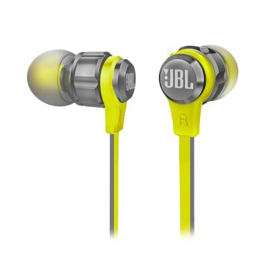 JBL T180A PureBass Stereo In-Ear Headset - Yellow