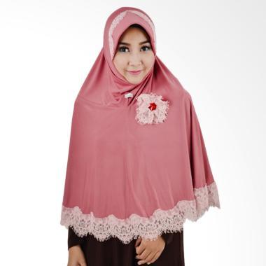 Atteena Hijab Aulia Namira Jilbab Instant - Dusty Pink