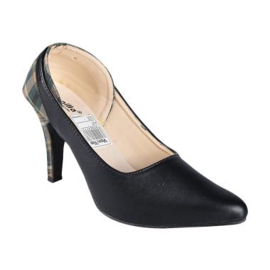 Vanilla SN-252 Sepatu High Heels Wanita - Black