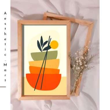 harga Wooden Craft Hiasan pajangan dinding kamar dekorasi rumah ornament Wall Decor Aesthetic F AS 8 Kayu Multicolor Blibli.com