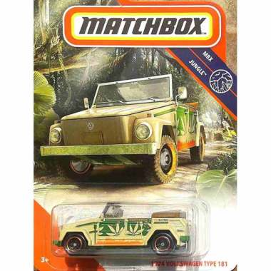 harga MATCHBOX 1974 VW VOLKSWAGEN TYPE 181 SAFARI 2020 - CAMAT BEETLE T2 Blibli.com