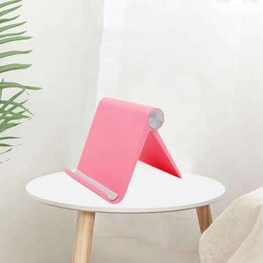 harga Tablet Stand Holder Adjustable Compatible for iPad 10.2 2019, for iPad Pro 11 Inch 2020, Mini 5 4 3 2, for  Switch, for  12 Pro Max Red Blibli.com