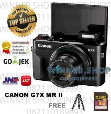 harga New Canon Powershot G7X Mark Ii Digital Camera - Canon G7X Mark 2 Terlaris Multicolor Blibli.com