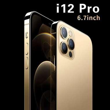 harga IPhone 12 Pro HDC phone Bang screen Smartphone 5600mah Layar Sentuh HD 6.7