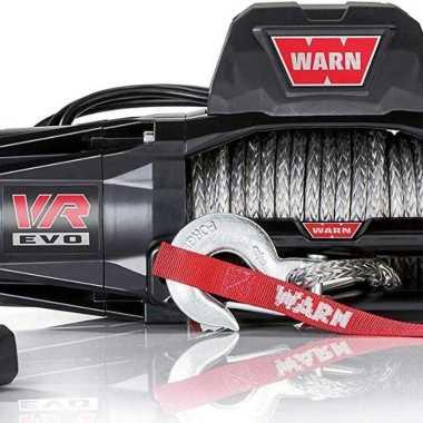 harga Winch Plasma VR EVO 10 Gen 3 WARN Syntetic Rope 4.5 Ton Hitam Blibli.com