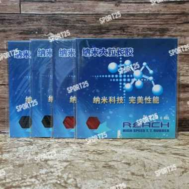 Karet - Rubber Pingpong Bintik Panjang Reach C801 C 801 OX GINAL - multicolor