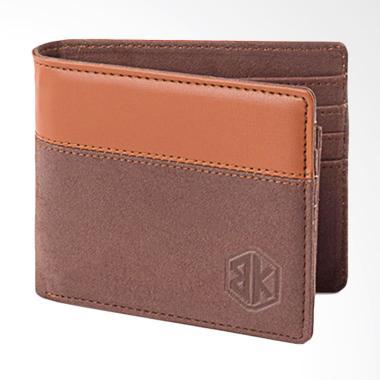 Blackkelly Wallet Dompet Pria - Coklat