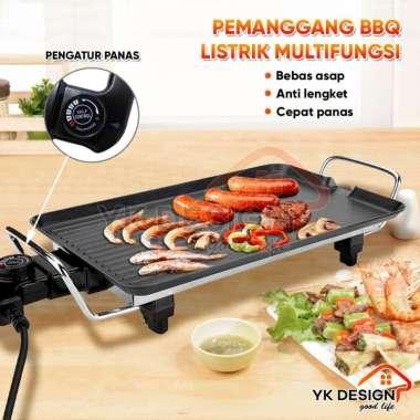 YK DESIGN YK-816 Alat panggang daging / Shabu , BBQ elektrik Pemanggang listrik Yakiniku Grill Pan