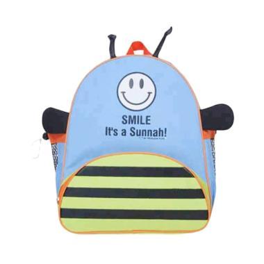 Moslem Kids AlibeShop Bee Tas Sekolah Anak - Blue